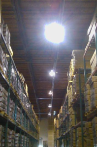 Cost-Effective Warehouse Lighting