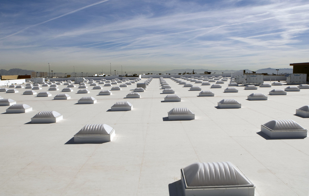 cool roofs for green warehousing