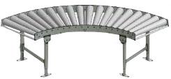 Gravity Roller Conveyor Curve